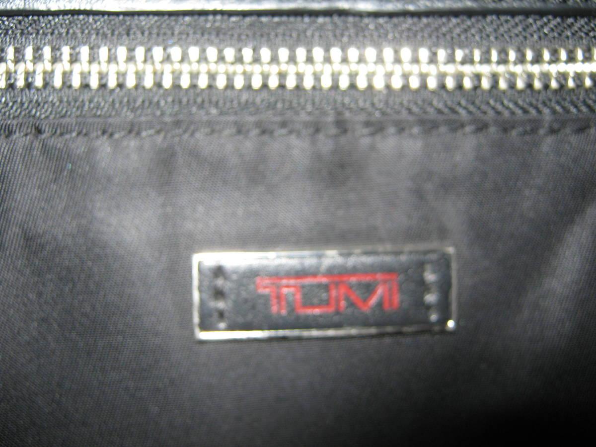 レア出品!美品!超ポケット多! TUMI トゥミ 黒 ビジネスバッグ ブリーフケース A4入ります 肩にも手にも持てる便利設計_画像7
