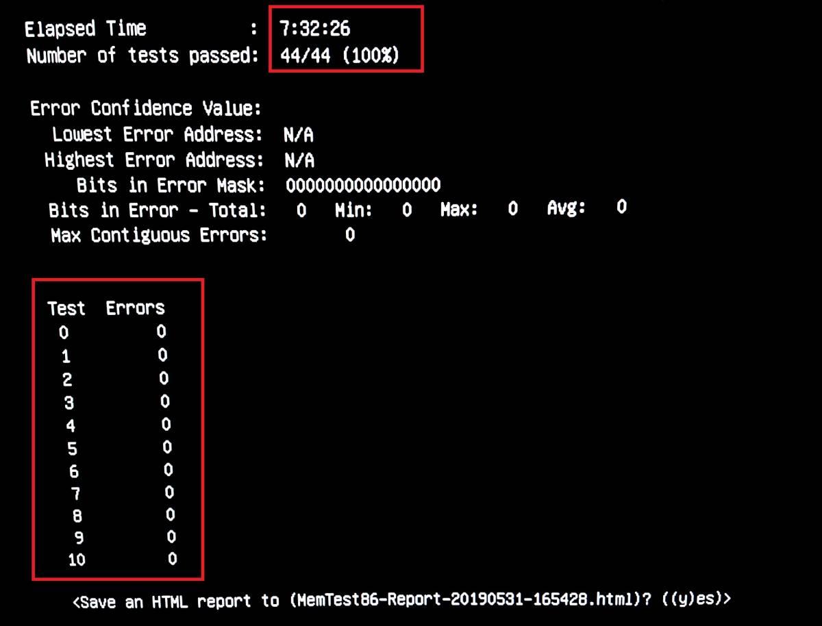 ★超目玉 試験時間 7時間32分26秒 完全動作品★ SAMSUNG PC3L-12800E 計 16GB 4GB x 4枚 ECC UNBUFFERED DDR3L WS SV 用メモリ #4046_検査時間エラーなしを確認下さい。