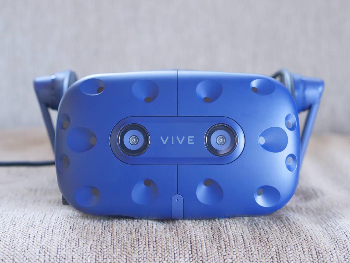 【中古美品】HTC VIVE Pro フルセット 99HANW009-00 HMD VR_画像3