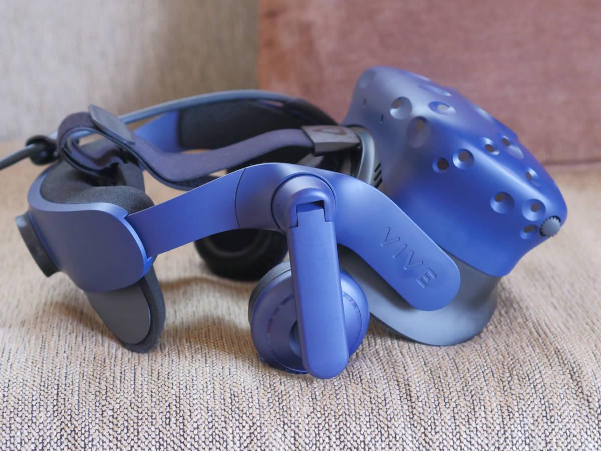 【中古美品】HTC VIVE Pro フルセット 99HANW009-00 HMD VR_画像6