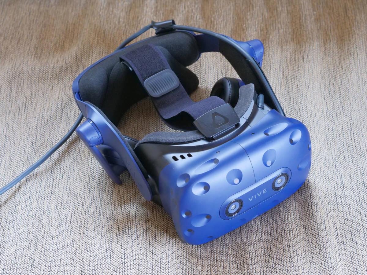 【中古美品】HTC VIVE Pro フルセット 99HANW009-00 HMD VR_画像2