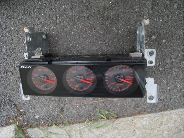 売り切り! DEFI デフィ ■ din ゲージ gauge 追加メーター ■シルビア スカイライン RX-7 エボ インプ JZX100 S15 S14 R34 R32 180sx