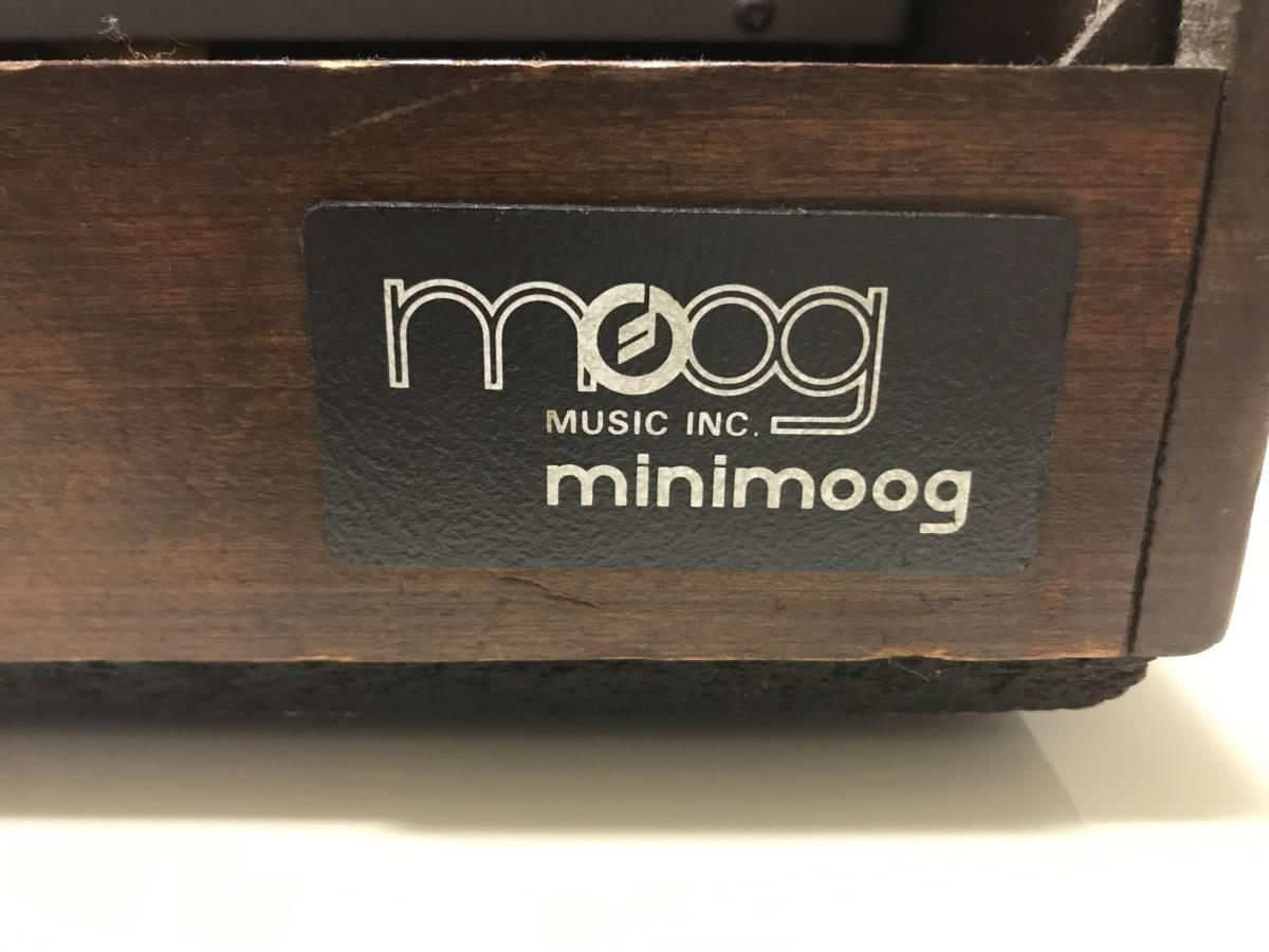 前期型 MINI MOOG MODEL D ジャンク品_画像7
