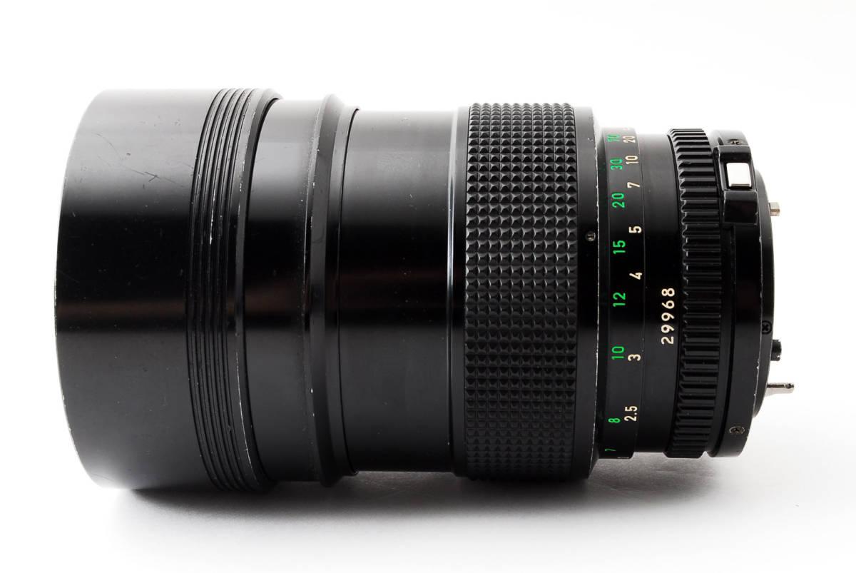 ◆7月値下げ◆希少◆キャノン Canon NFD New FD 135mm F2 #7628_画像6