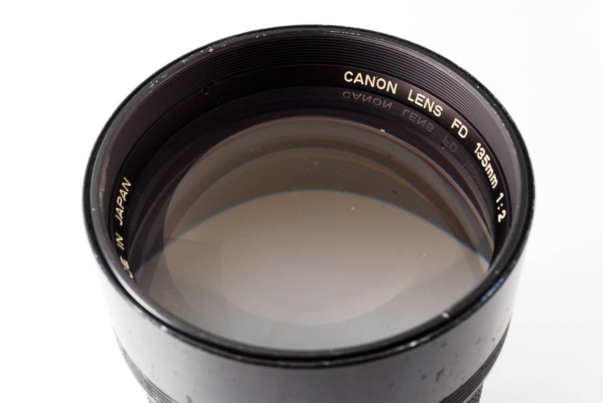 ◆7月値下げ◆希少◆キャノン Canon NFD New FD 135mm F2 #7628_画像10