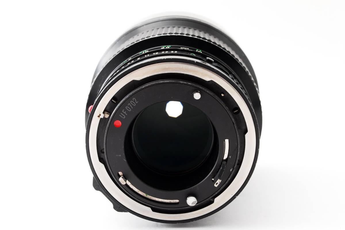 ◆7月値下げ◆希少◆キャノン Canon NFD New FD 135mm F2 #7628_画像5