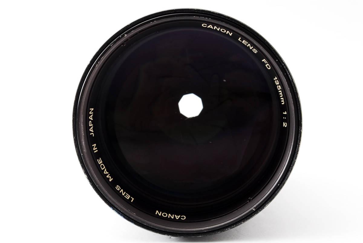 ◆7月値下げ◆希少◆キャノン Canon NFD New FD 135mm F2 #7628_画像3