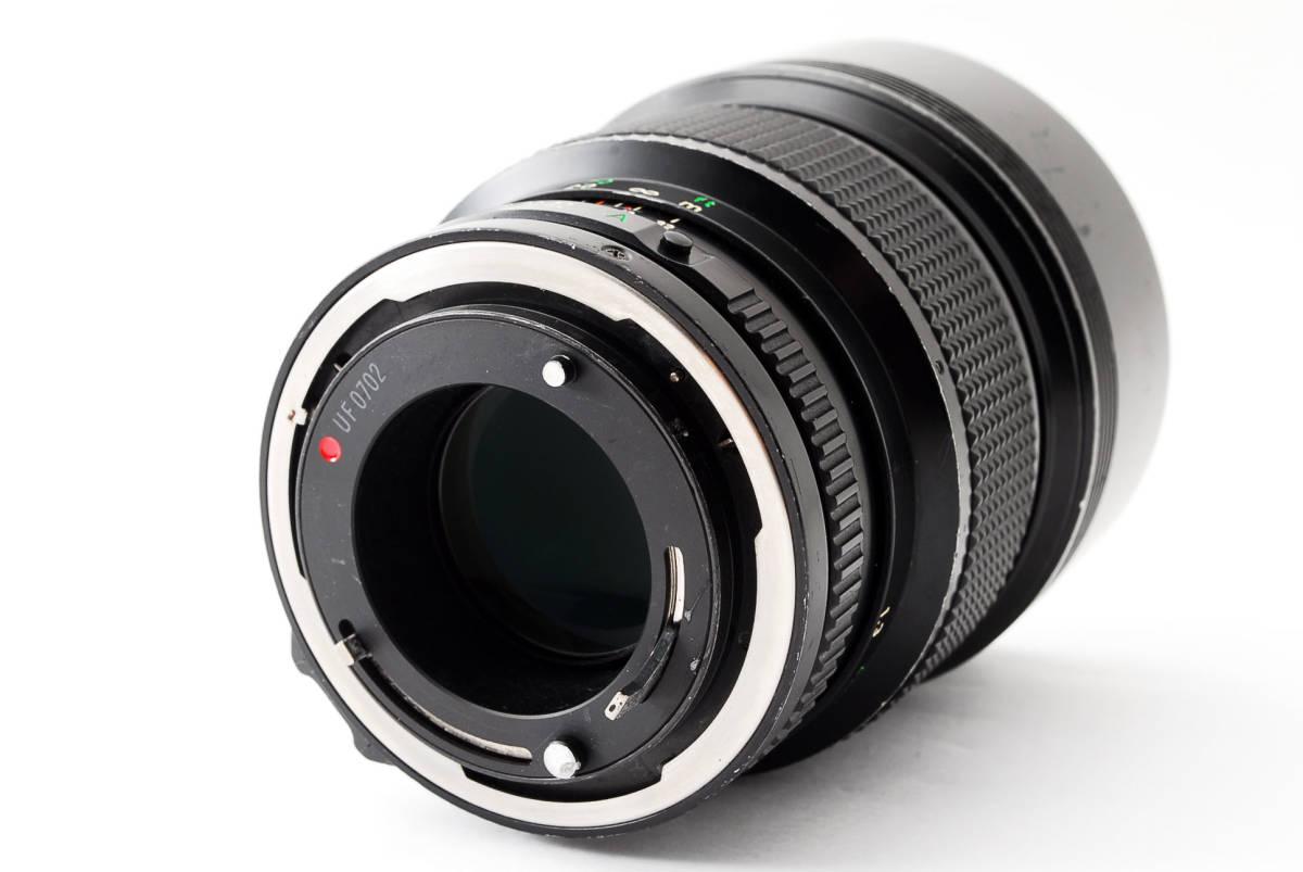 ◆7月値下げ◆希少◆キャノン Canon NFD New FD 135mm F2 #7628_画像4