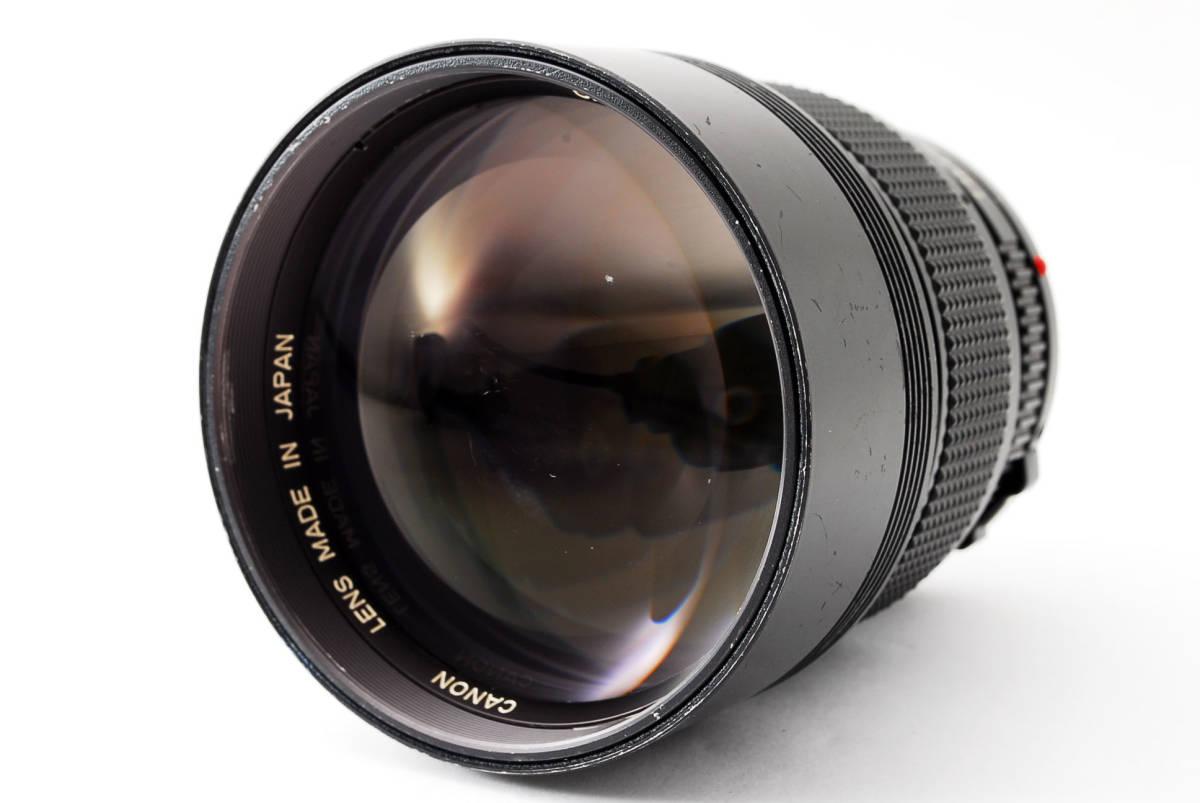 ◆7月値下げ◆希少◆キャノン Canon NFD New FD 135mm F2 #7628_画像2