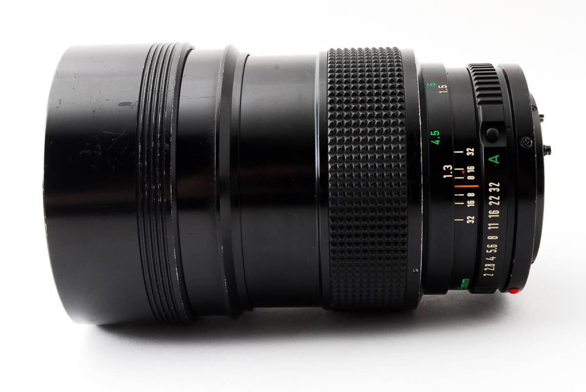 ◆7月値下げ◆希少◆キャノン Canon NFD New FD 135mm F2 #7628_画像7
