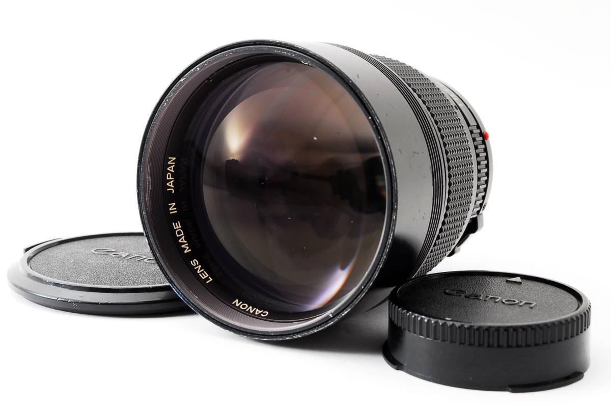 ◆7月値下げ◆希少◆キャノン Canon NFD New FD 135mm F2 #7628