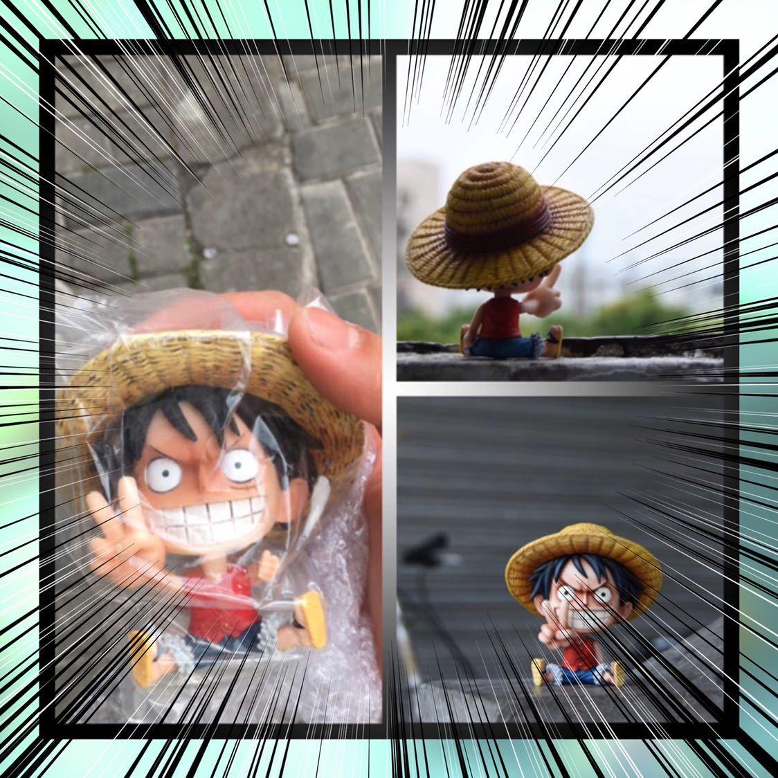 ワンピース 日本未発売 希少品 海外限定品 フィギュア ルフィ エース ゾロ サボ チョッパー サンジ 手のひらサイズ 重さあり作り精巧です☆_画像3