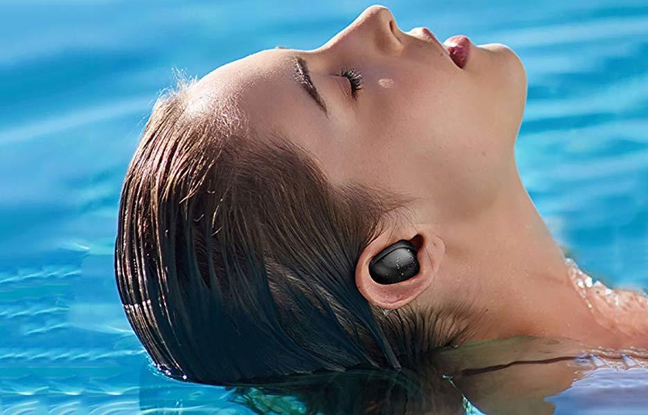 【激安価格】Bluetooth5.0 ワイヤレス イヤホン IPX7完全防水 LED電量表示 30M Bluetooth接続距離 電池残量インジケーター付き_画像8