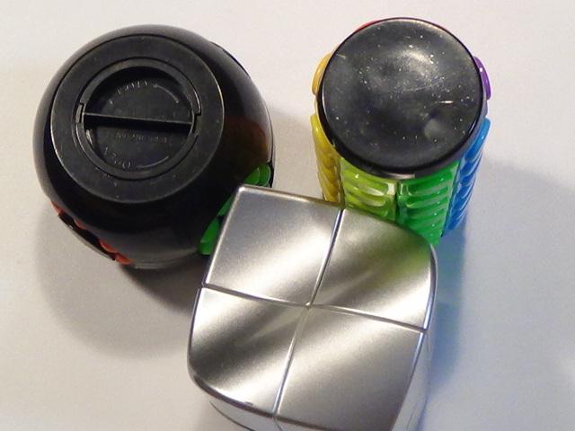 変形 スピード キューブ パズル 貯金箱 難解 チェンジ 色々 セット まとめて 珍しい 特殊 ルービック ⑭ 3個セット_画像5