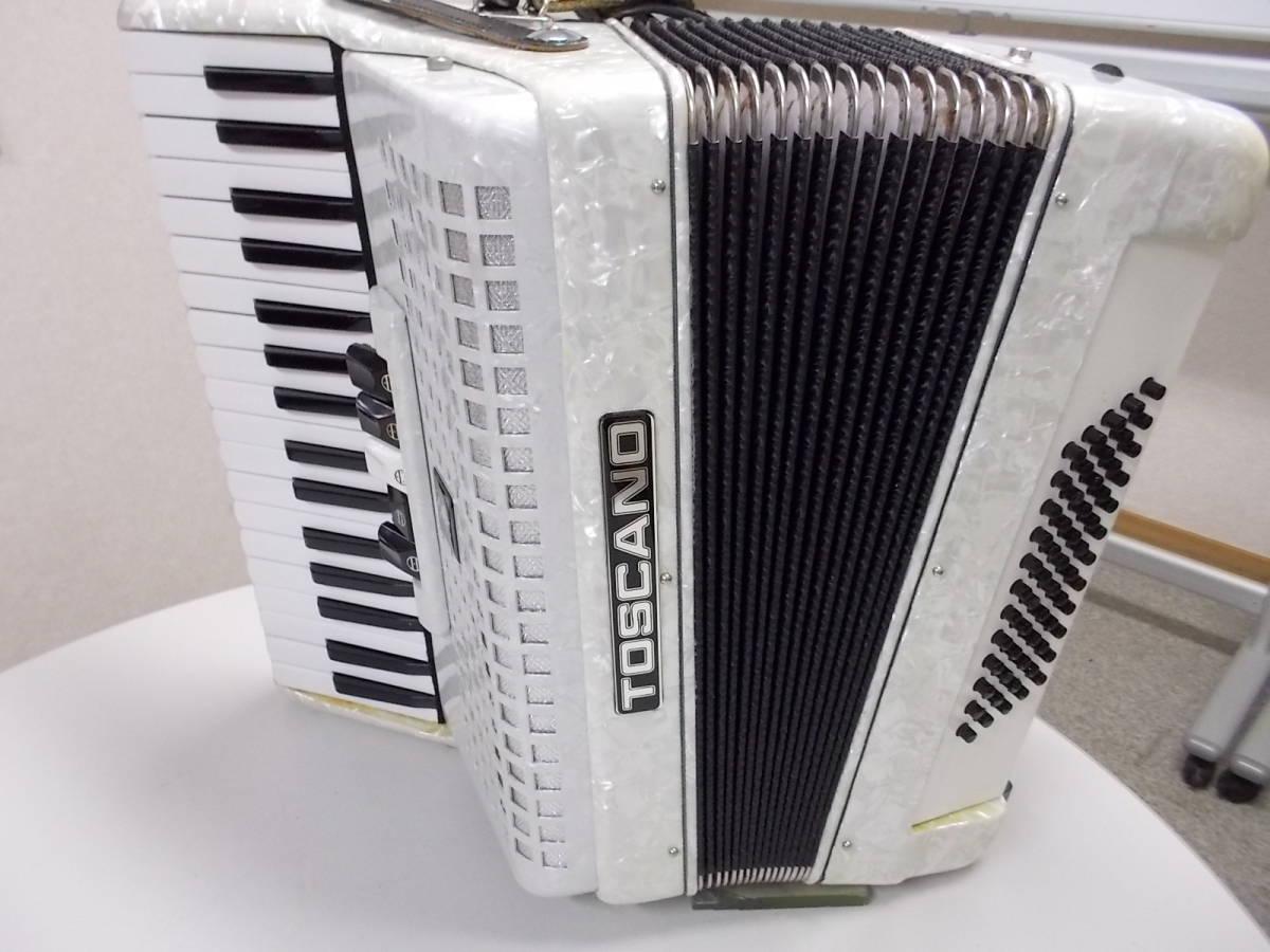 TOSCANO  34鍵60べース  ●整備済み●叙情曲、懐メロ、歌謡曲、など最高です●鍵盤幅、鍵盤タッチ問題なく即演奏できます