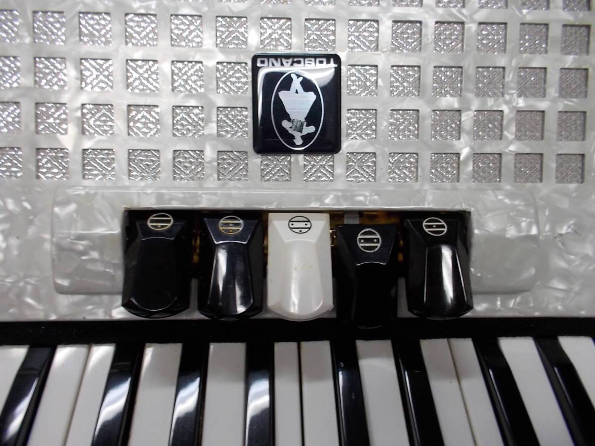 TOSCANO  34鍵60べース  ●整備済み●叙情曲、懐メロ、歌謡曲、など最高です●鍵盤幅、鍵盤タッチ問題なく即演奏できます_画像2
