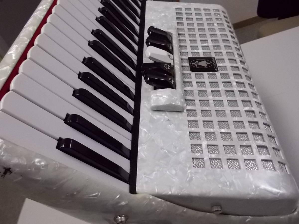 TOSCANO  34鍵60べース  ●整備済み●叙情曲、懐メロ、歌謡曲、など最高です●鍵盤幅、鍵盤タッチ問題なく即演奏できます_画像5