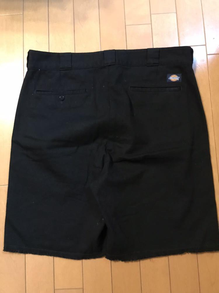 【美品】RHC ロンハーマン ディッキーズ 別注 ショーツ 36 ブラック 黒 ショートパンツ_画像3