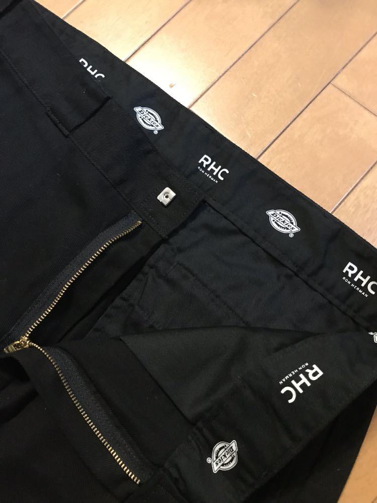 【美品】RHC ロンハーマン ディッキーズ 別注 ショーツ 36 ブラック 黒 ショートパンツ_画像4