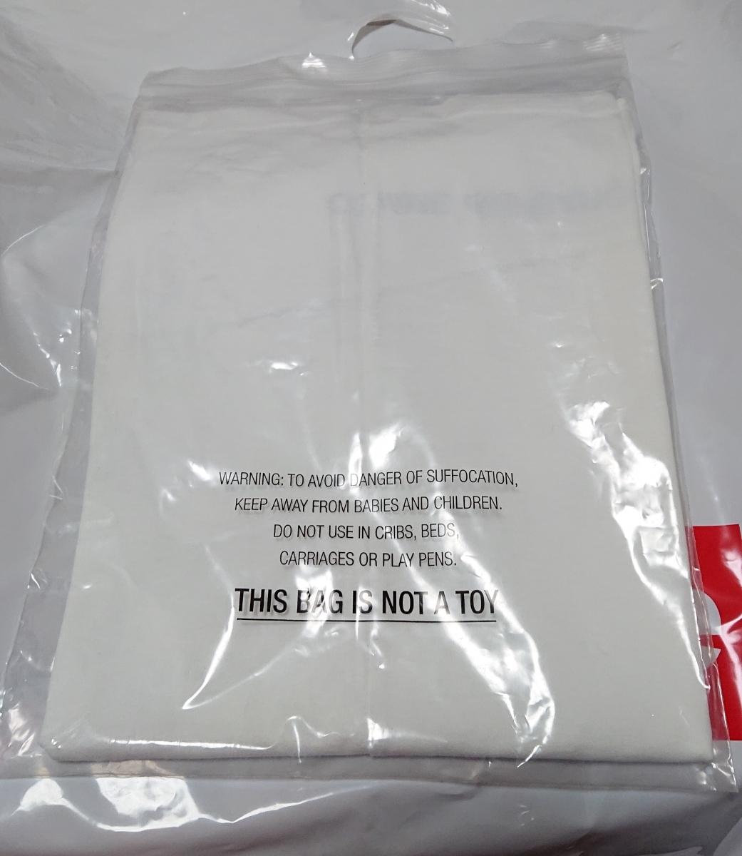 Mサイズ★18aw Supreme COMME DES GARCONS SHIRT Box Logo TEE CDG White白 シュプリーム コムデギャルソン Tシャツ 新品_画像3