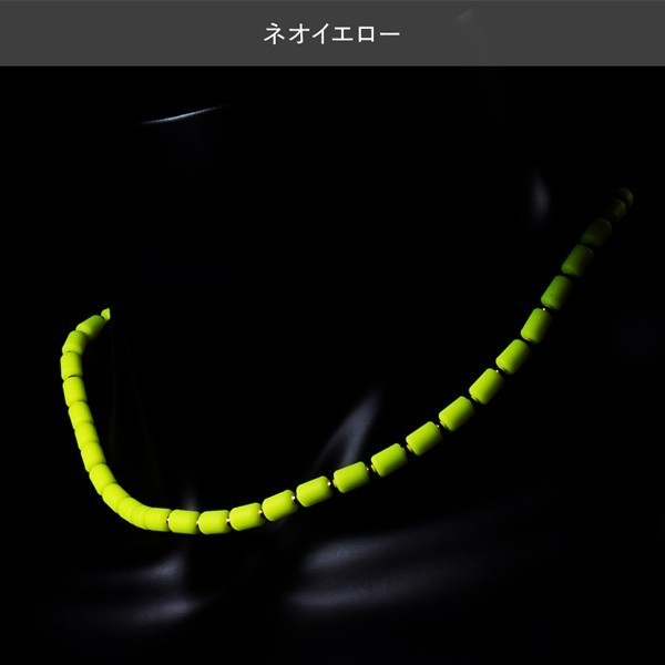 【送料無料】★クリオ(CHRIO)★インパルスネオ ネックレス Sサイズ ネオイエロー 新品 正規品 保証書付き_画像1
