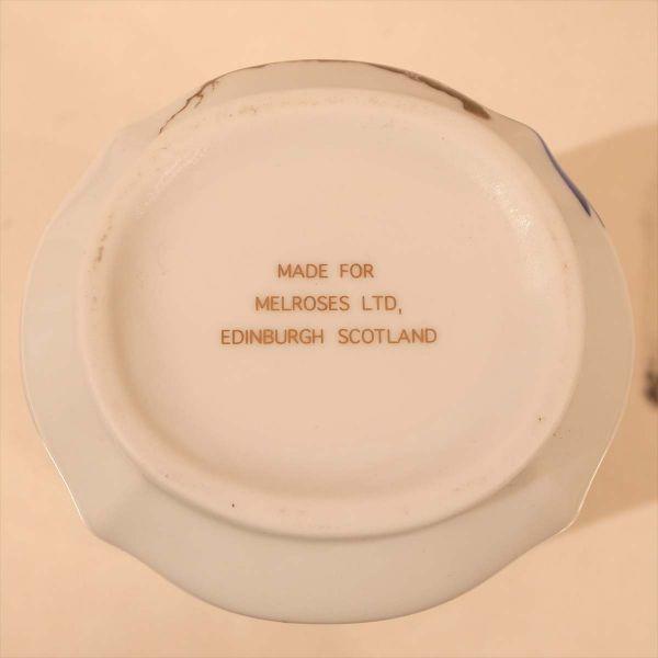 メルローズ スコットランド 茶葉入れ 茶筒 陶器 容器 小物入れ キャニスター エディンバラ MELROSES_画像5