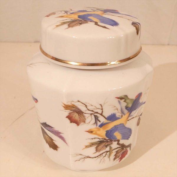 メルローズ スコットランド 茶葉入れ 茶筒 陶器 容器 小物入れ キャニスター エディンバラ MELROSES