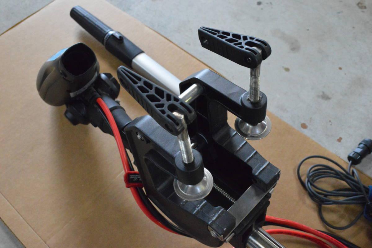 ハイガー ハンドコン HS-50713 130lb 24V シャフト長33インチ リモコン仕様 中古美品 モーターガイドやミンコタとの併用にも_画像5