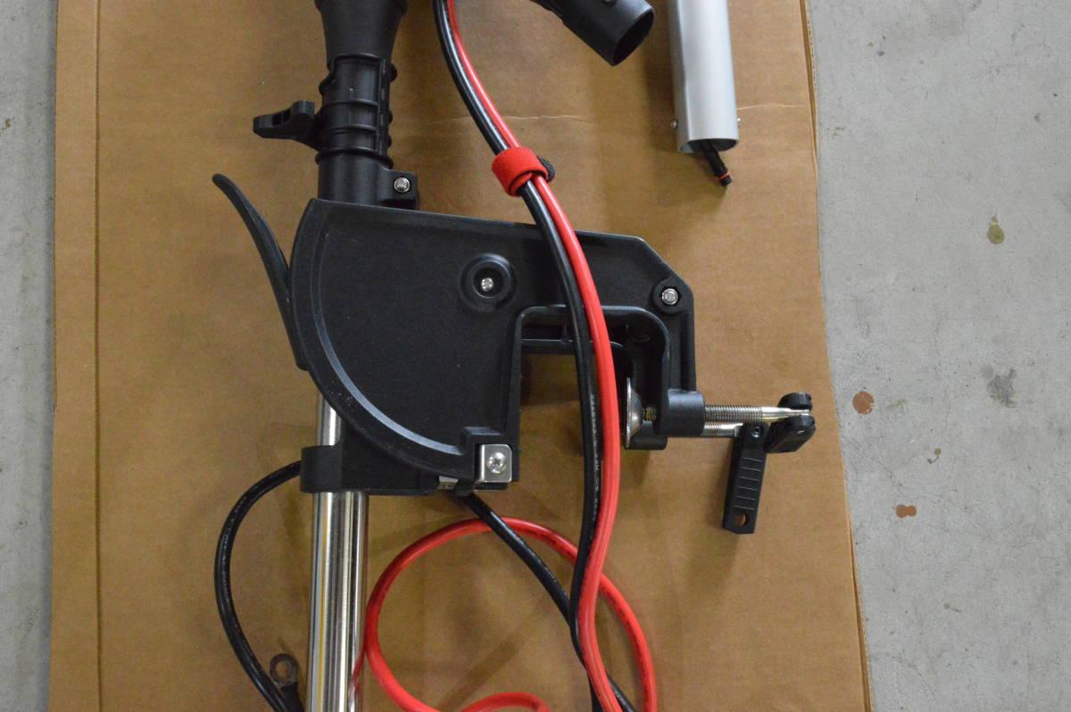ハイガー ハンドコン HS-50713 130lb 24V シャフト長33インチ リモコン仕様 中古美品 モーターガイドやミンコタとの併用にも_画像3