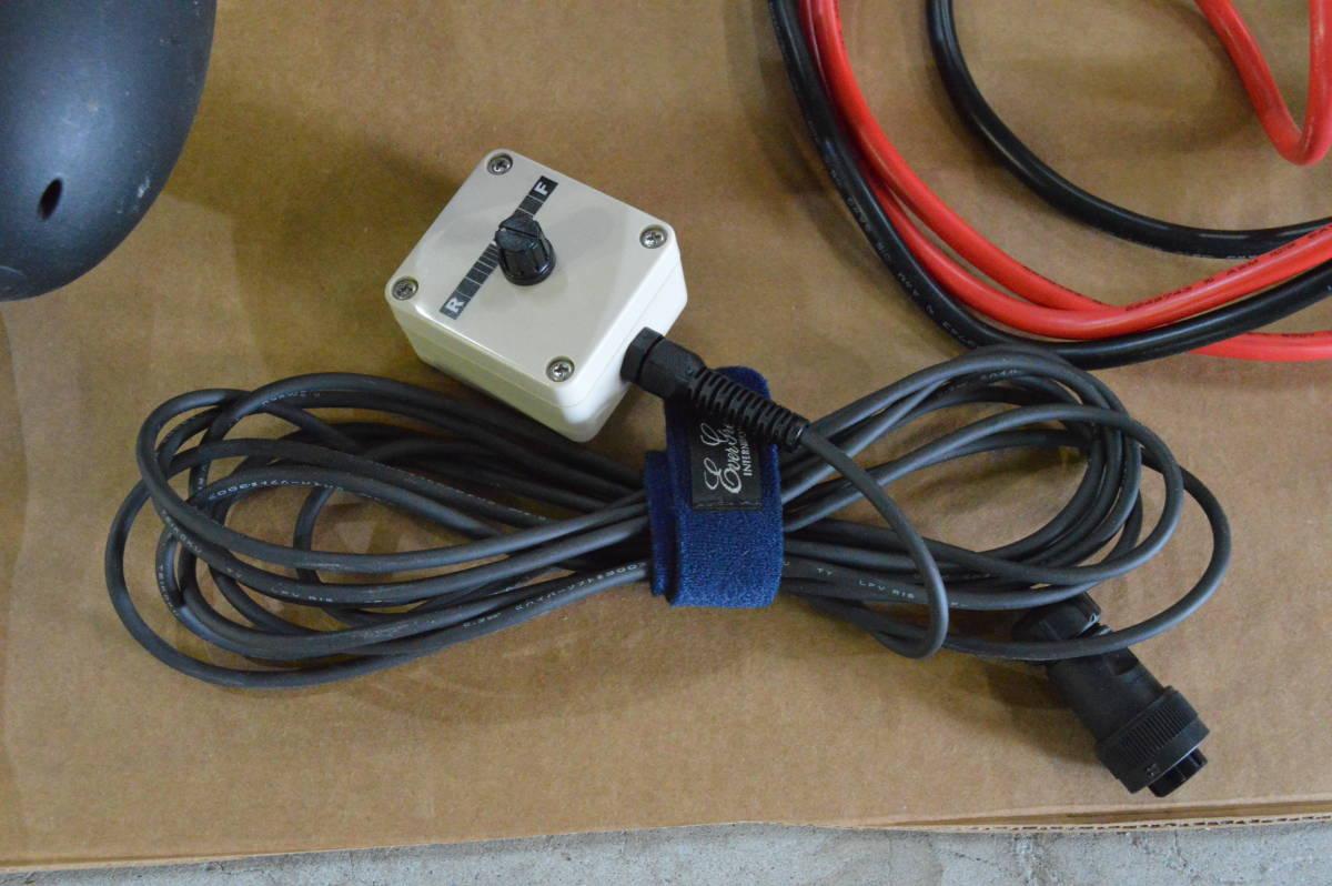 ハイガー ハンドコン HS-50713 130lb 24V シャフト長33インチ リモコン仕様 中古美品 モーターガイドやミンコタとの併用にも_画像10