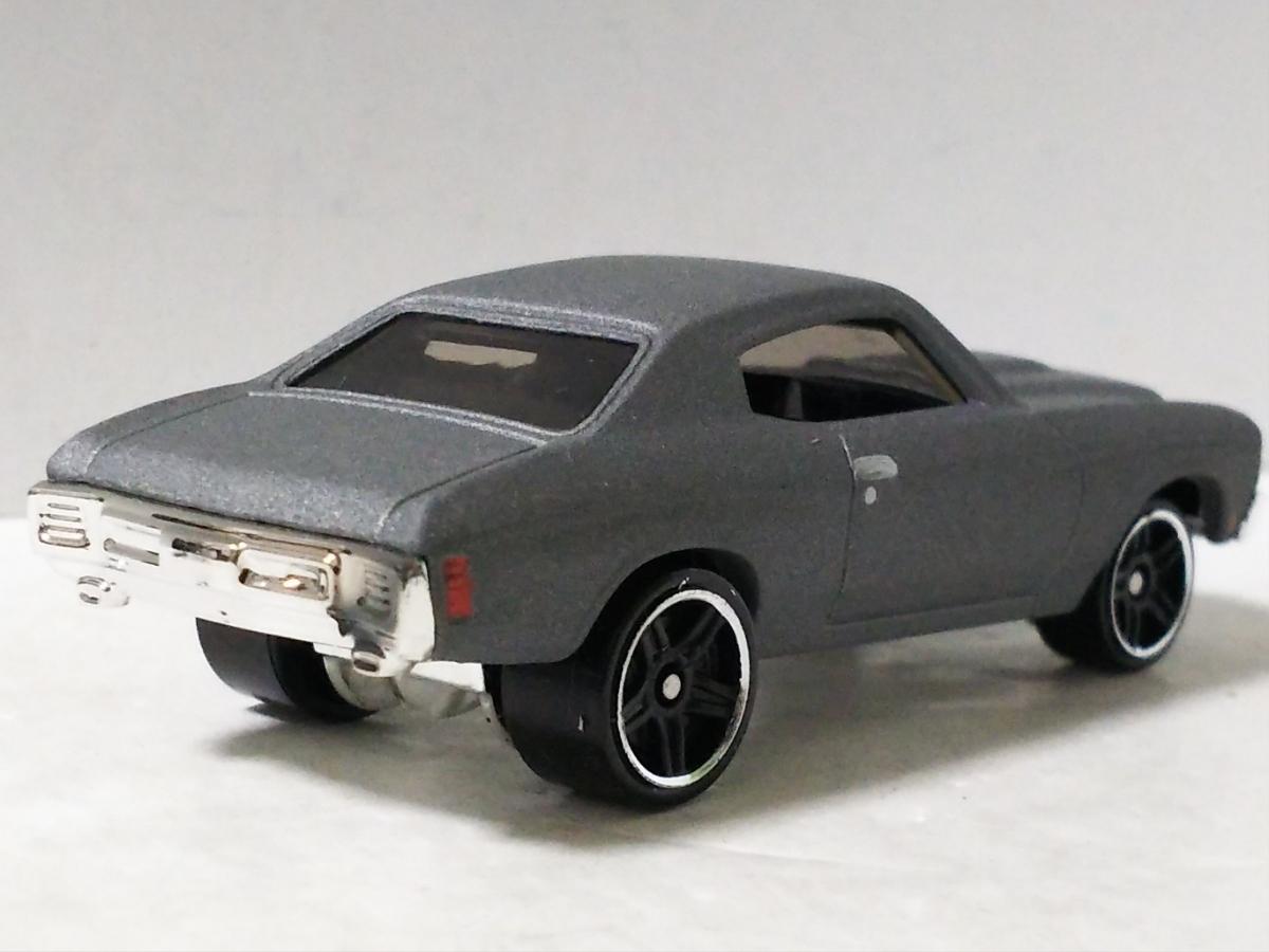 パック限定/'70 シボレー シェベルSS/シルバー/ワイルドスピード/ホットウィール/Hotwheels/1970 Chevrolet Chevelle/Fast&Furious/5-Pack/_画像2