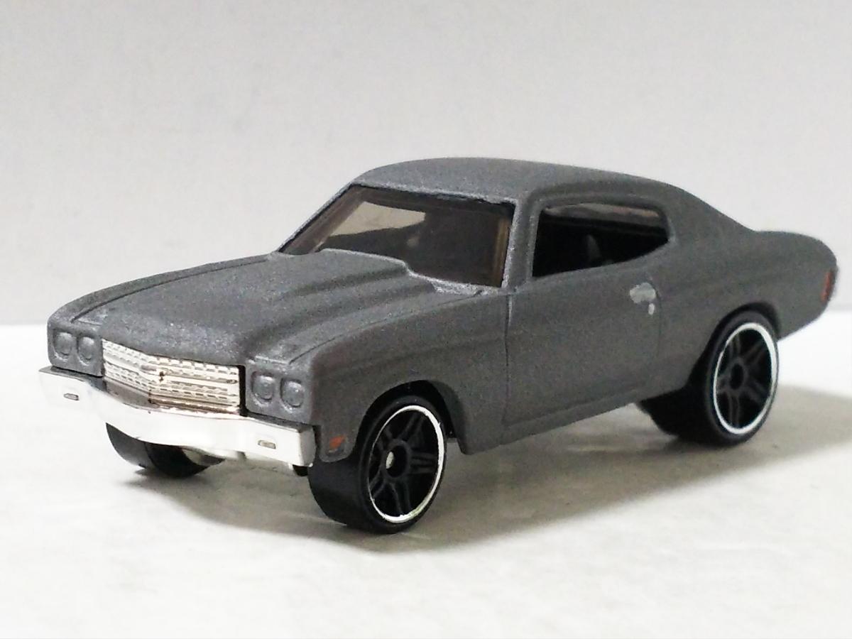 パック限定/'70 シボレー シェベルSS/シルバー/ワイルドスピード/ホットウィール/Hotwheels/1970 Chevrolet Chevelle/Fast&Furious/5-Pack/_画像1