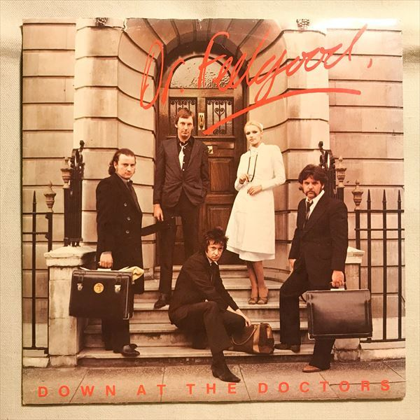 ◆UK ORG◆ DR. FEELGOOD / DOWN AT THE DOCTORS ◆PUB ROCK/パブロック_画像1