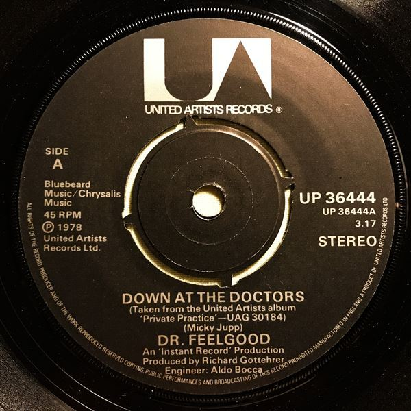 ◆UK ORG◆ DR. FEELGOOD / DOWN AT THE DOCTORS ◆PUB ROCK/パブロック_画像3