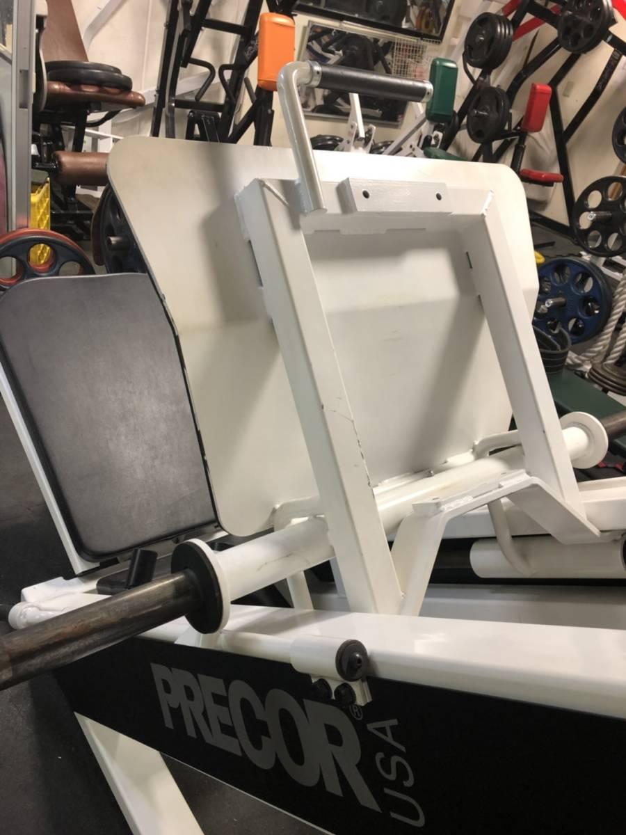 アイカリアン プリコー 45度レッグプレス 美品 ジム用 50mm オリンピックプレート対応 引取り希望 中古 _画像9