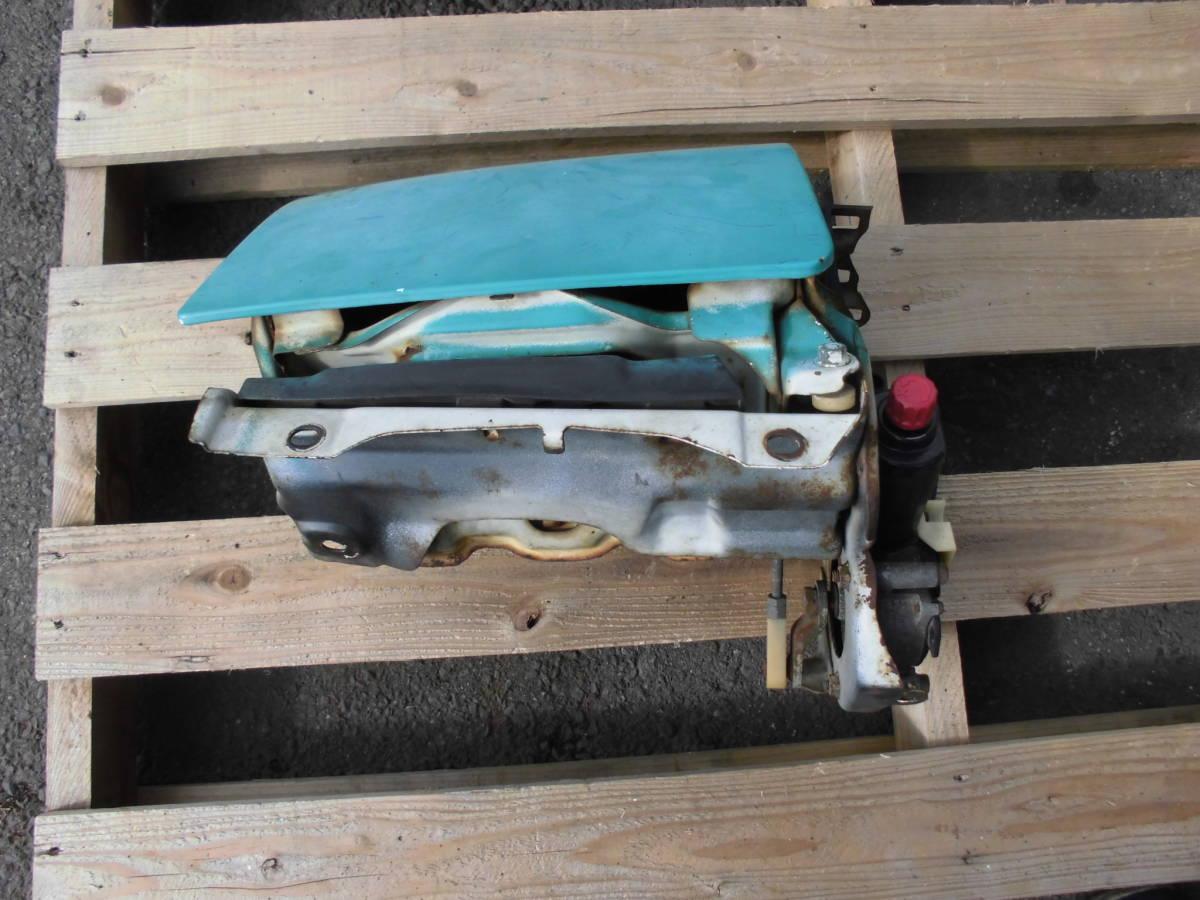 長期保管 AE86 トレノ 前期 L 左側 リトラクタブルヘッドライト 助手席側 前期 リトラボディ ライト付き ライトカバー リトラモーター付き_画像4