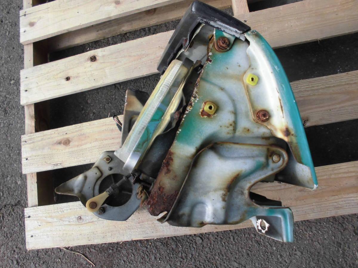 長期保管 AE86 トレノ 前期 L 左側 リトラクタブルヘッドライト 助手席側 前期 リトラボディ ライト付き ライトカバー リトラモーター付き_画像5