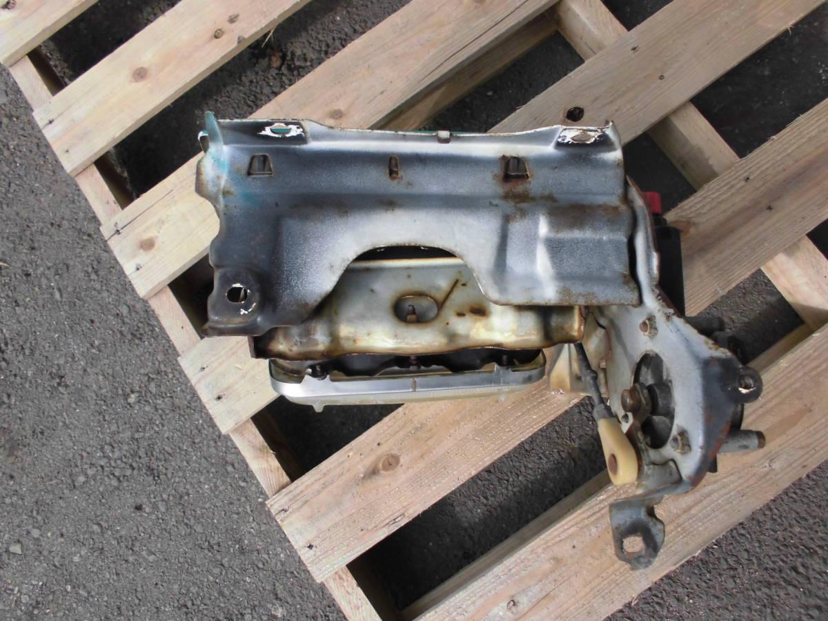 長期保管 AE86 トレノ 前期 L 左側 リトラクタブルヘッドライト 助手席側 前期 リトラボディ ライト付き ライトカバー リトラモーター付き_画像6