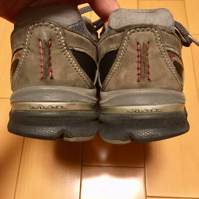 NEW BALANCE M2040GL1 US 7 1/2 D 25.5 Made In USA USA製 ヌバック ニューバランス スニーカー 廃盤 グレー アメリカ製 レア 最上級_画像8