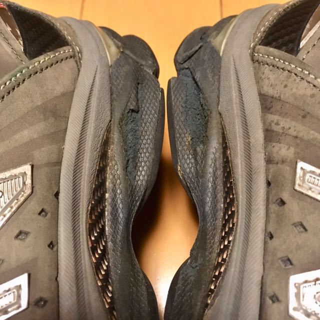 NEW BALANCE M2040GL1 US 7 1/2 D 25.5 Made In USA USA製 ヌバック ニューバランス スニーカー 廃盤 グレー アメリカ製 レア 最上級_画像6