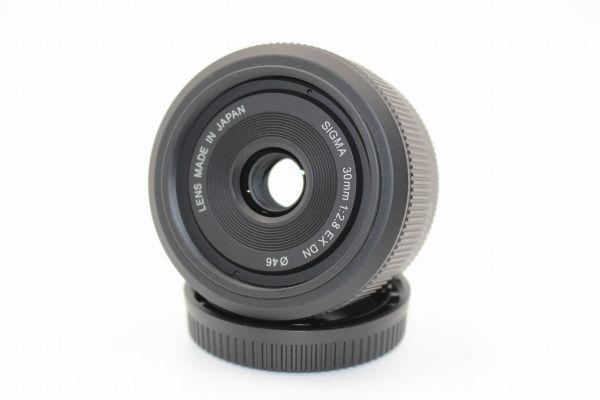 ■新品同様品■シグマ SIGMA 30mm F2.8 EX DN マイクロフォーサーズ用■付属充実■8339_画像2