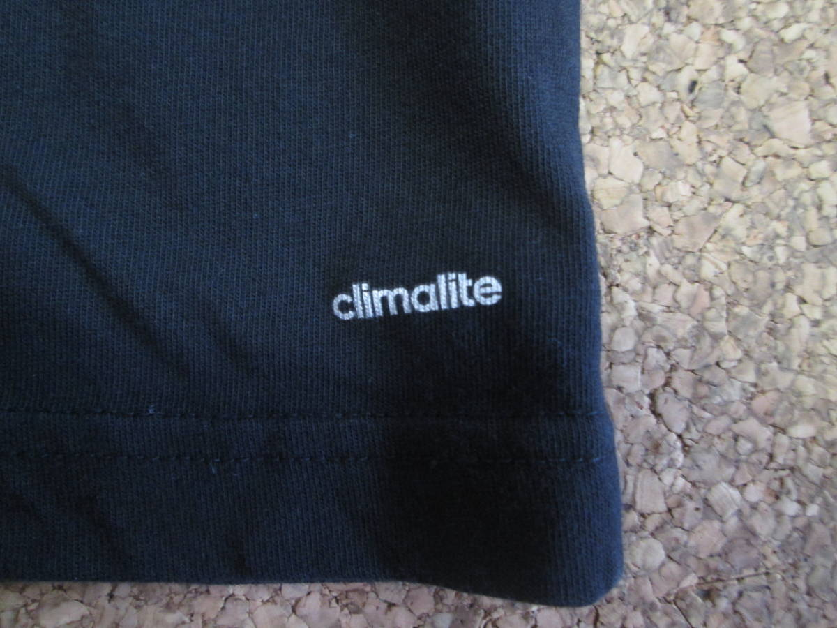 【USED】adidas Tシャツ 160cm 黒_画像6