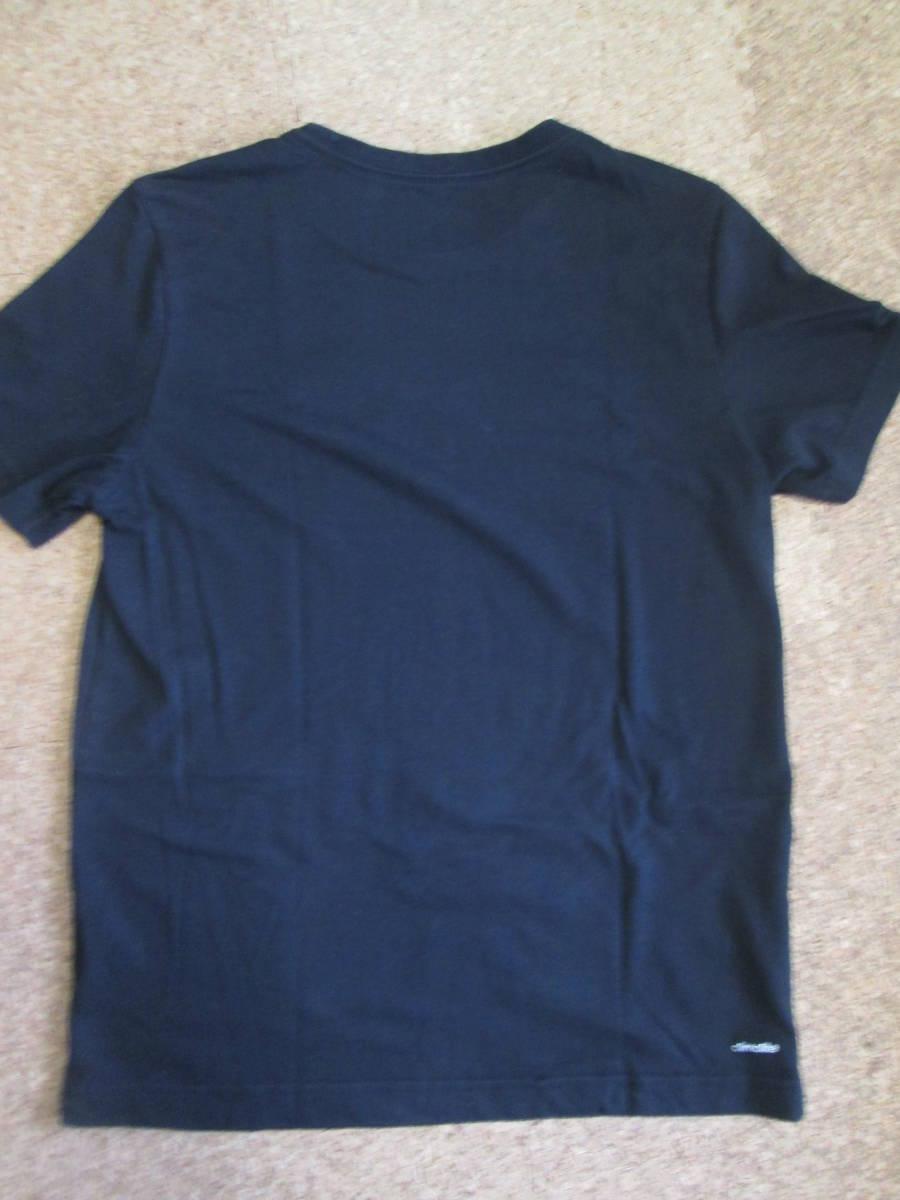 【USED】adidas Tシャツ 160cm 黒_画像5