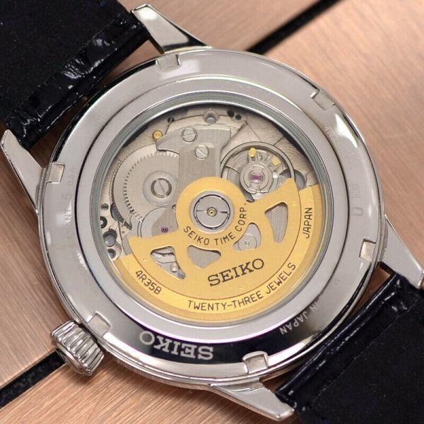 【SEIKO セイコー☆プレサージュ】SARY075 自動巻き メンズ腕時計【極美品☆動作保証】_画像8