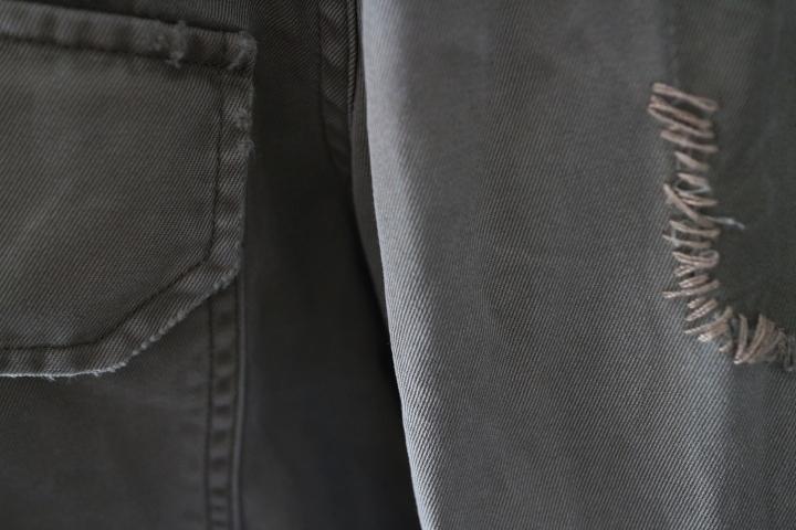 【正規店購入】POLO RALPH LAUREN ポロ ラルフローレン レディース ミリタリー 長袖 シャツ カーキ リラックスフィット サイズ4_画像8