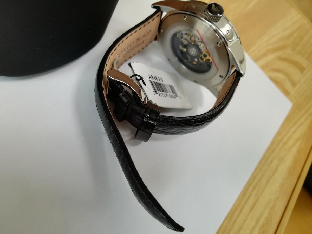 【1円~】【未使用】エンポリオアルマーニ(EMPORIO ARMANI) AR4629 腕時計 メンズ ビジネス カジュアル 自動巻き スケルトン 並行輸入_画像7