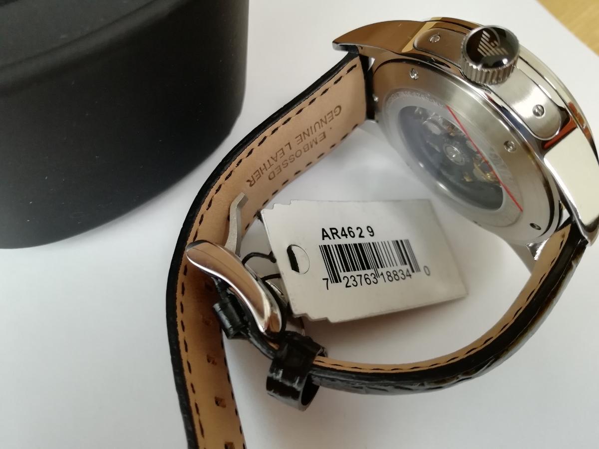 【1円~】【未使用】エンポリオアルマーニ(EMPORIO ARMANI) AR4629 腕時計 メンズ ビジネス カジュアル 自動巻き スケルトン 並行輸入_画像8