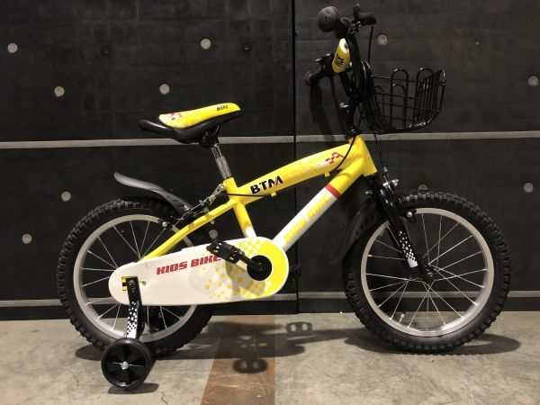 Aランク■子供用自転車■幼児用■軽量■補助輪■チェーンケース付き■16インチ■12.4KG■Y_画像2