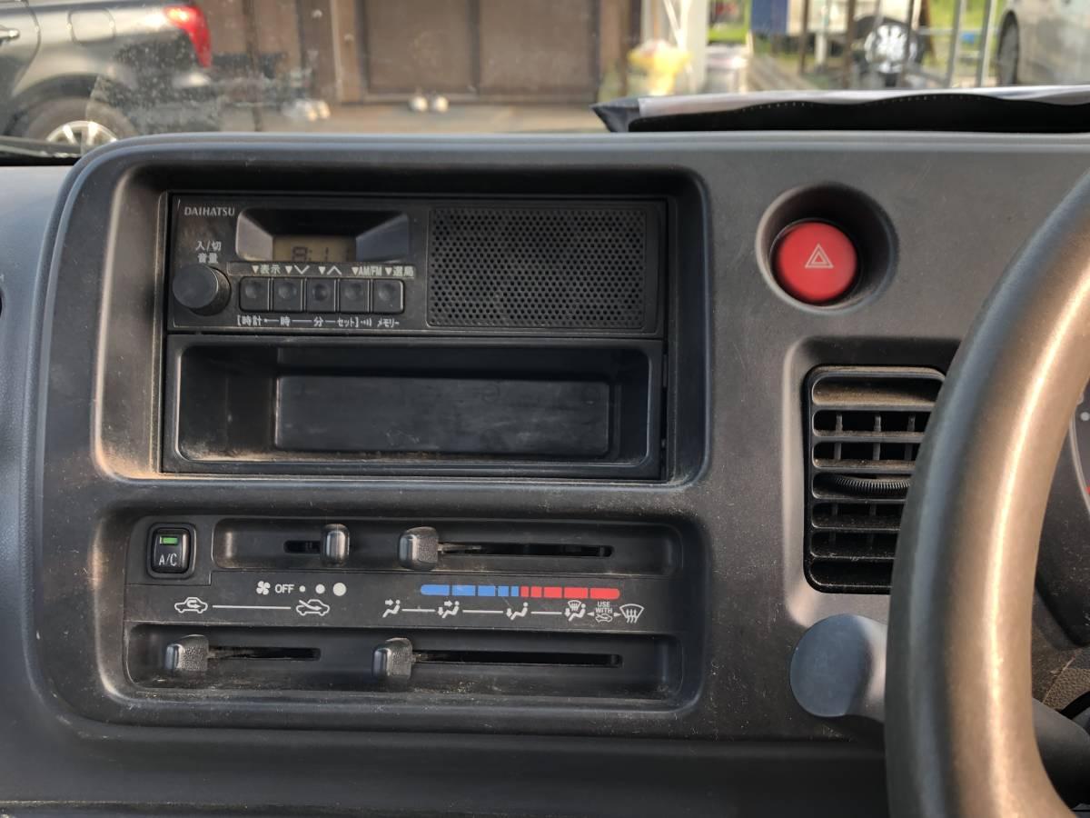 格安スタート! 大人気車種!H21年式 ハイゼットトラック エアコン付き 5MT 売切り!!_画像7