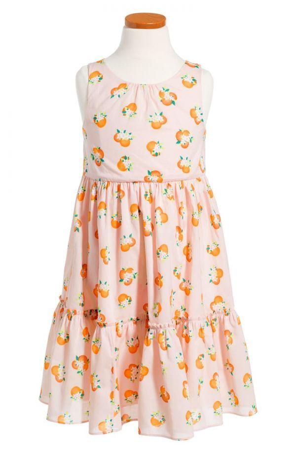 送料無料新品 140/10Aケイトスペード ニューヨークKate Spade New York Kids Womens Orangerie Midi Dress